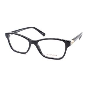 Coach Eyeglasses HC 6091 5002 51.16 135 Shinny Bla